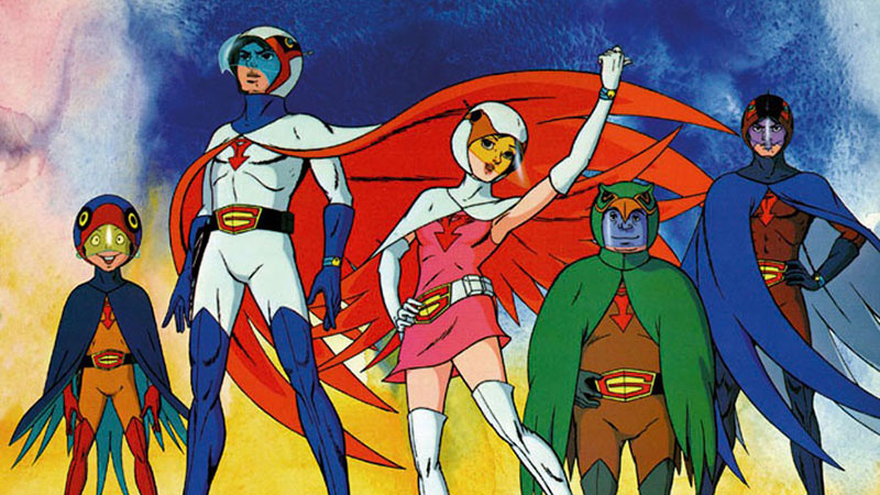 #53 : Science Ninja Team Gatchaman