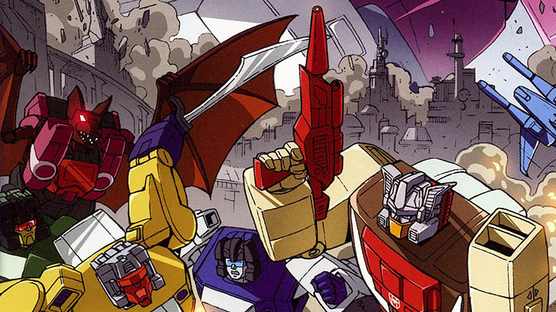 #119 : The Transformers: The Headmasters
