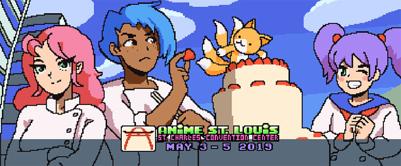 See you at Anime St. Louis thisweekend!