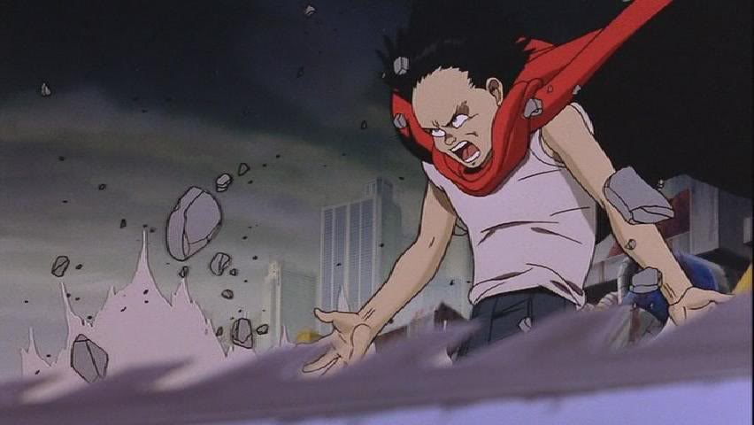 Anime Wisdom from Tetsuo Shima… What have I done? The destructive power of anger as seen in Akira.